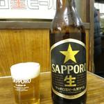はなみち - ビール(大瓶)450円