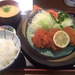 とんかつせんのき - 特ヒレ定食 1155円