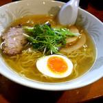 ラーメン専門店 麺屋 空 - らぁめん(塩)600円