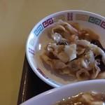 中華飯店青葉 - 帆立貝のヒダ