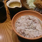 大戸屋 - 五穀米