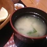 大戸屋 - 味噌汁