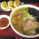 麺屋 文太 - 料理写真:潮ラーメン¥700