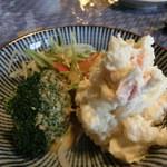 そば処 ものぐさ - 長芋のポテトサラダ(\400)
