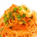 24009866 - 海の幸のトマトスパゲッティー