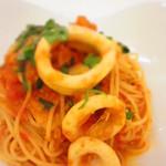 24009926 - 海の幸のトマトスパゲッティー