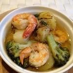 24010271 - 海老と野菜のオイル煮