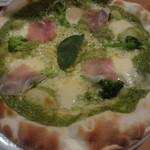 ジャカッセ - ジェノベーゼのピザ