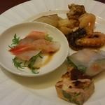 コッコラーレ ブッフェエリア - 前菜たち