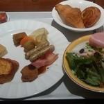 コッコラーレ ブッフェエリア - 朝食