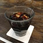 パパス カフェ - ちょっと暖かかったので、アイスコーヒー
