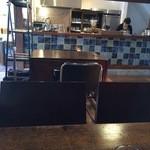 日光珈琲 御用邸通 - キッチンスタッフは2人でした。