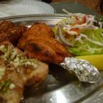 インド料理 ショナ・ルパ - タンドリーミックスグリル アップ