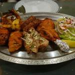 インド料理 ショナ・ルパ - タンドリーミックスグリル 3200円
