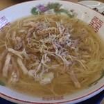 博多金龍 - ネギ豚塩ラーメン
