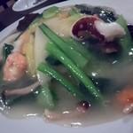 双琉 - 海鮮あんかけ炒飯
