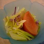 うめ丸旅館 - ☆軽いサラダ仕立ても…朝から欲しい1品ですね☆