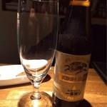 グッド&バッド タイムス - キリン一番搾り(小瓶) 600円。