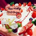 ジャミン - 特製ウエディングケーキ