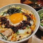 鶏の蔵 - 名古屋コーチン 塩ラー親子丼
