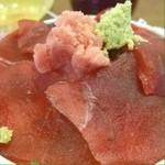うみえーる つくみんち - マグロ丼(≧∇≦)2008年5月8日。