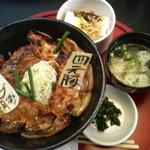 とんすけ - 豚丼セット(ロース)980円 2014/02
