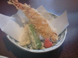 五感で楽しむ 日本料理花ゆず - 天ぷら
