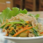おんちゃんの野菜畑 - 無添加キムチを使った「豚キムチ炒め」
