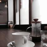 リトルフォートコーヒー - ドリンク写真:フレンチプレスでいただいたホットコーヒー(ディープ・ガァテマラ)
