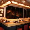 蔵六鮨 三七味 - 内観写真:カウンターと9席の客席