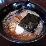 蓮華 - 醤油ラーメン
