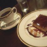 カフェ・ラ・バスティーユ - 焼きプリン(2014年1月)