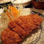 かつふじ - 南州白豚ロースカツ定食(小)120g 1300円('08/08)