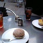 M Cafe de Chaya - テラス席にて
