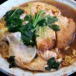 伊勢福 - カツ煮セット(カツ煮)
