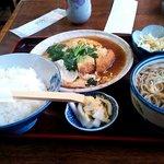 伊勢福 - カツ煮セット