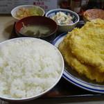 ガッツ - 料理写真:チキンカツ定食