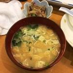 寿司・おでん 瓢六 - 味噌汁