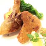 Le 日本食堂 - 仔鴨モモ肉のコンフィ '14 1月中旬