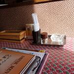 くま☆さん  - テーブルの感じ