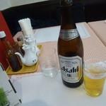 中一素食店 - 乾杯は普通にビールで!