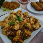 中一素食店 - 大豆挽肉入りマーボー豆腐です、「麻婆豆腐 (680円)」