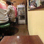 パッポンキッチン - 2人掛けのテーブル席も!