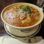 Chuugokuryourisui - 龍醤担担麺(ろんじゃんたんたんめん)