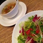 OTTO - ランチのサラダとスープ