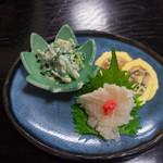 大黒家天麩羅 - 1)小鉢