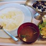 ステーキ・洋食 HAYASHI - 料理写真:林ライス(ランチ)1200円 (^^b