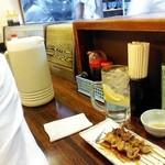 竹泉 - 焼鳥にチューハイを頼んでみた