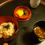 大宮 伊勢錦 - 昼のおまかせ懐石・百合(食事)