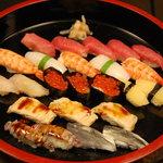 すし処 日の出 - 上寿司(3人前)